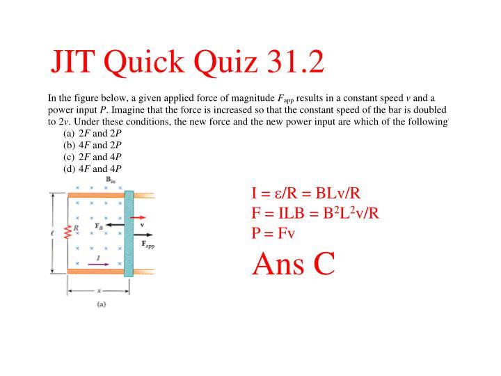 JIT Quick Quiz 31.2