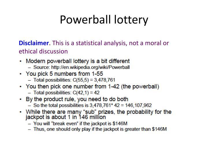 Powerball lottery