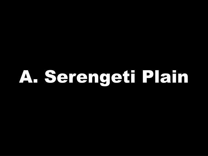 A. Serengeti Plain