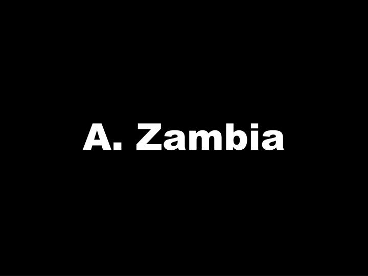 A. Zambia