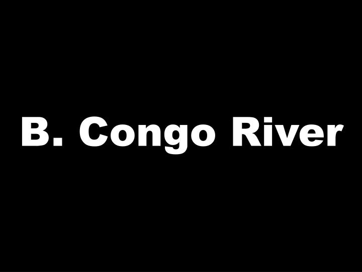 B. Congo River