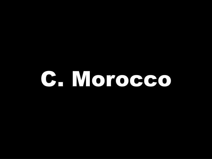 C. Morocco