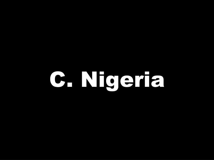 C. Nigeria