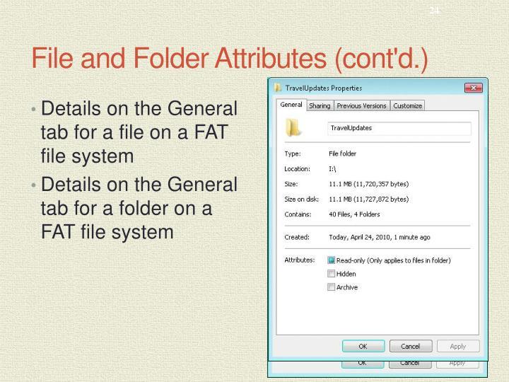 File and Folder