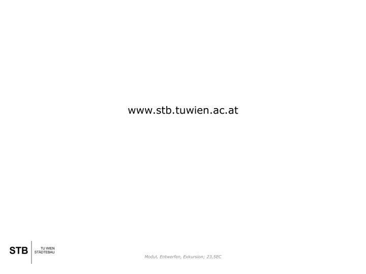 www.stb.tuwien.ac.at