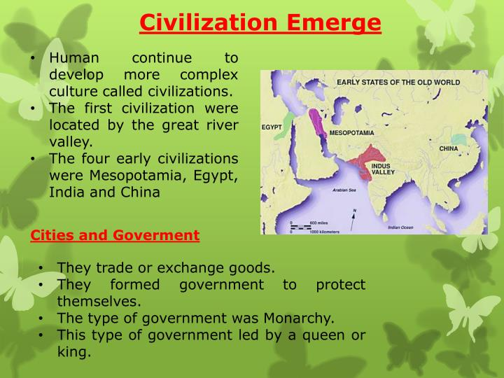 Civilization Emerge