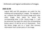 arithmetic and logical combination of images9