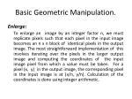basic geometric manipulation1