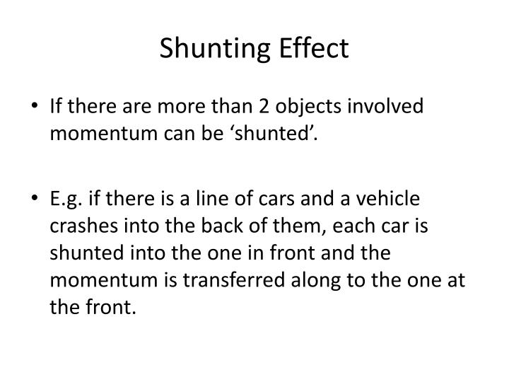 Shunting Effect