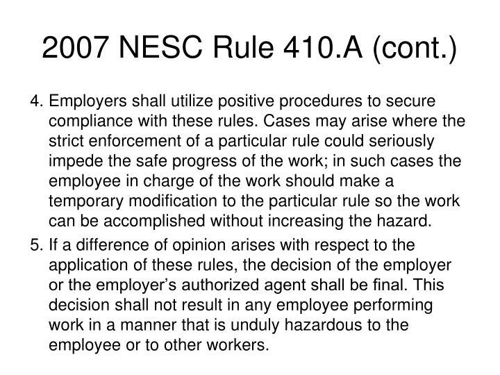 2007 NESC Rule