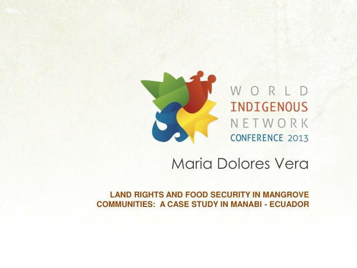 Maria Dolores Vera