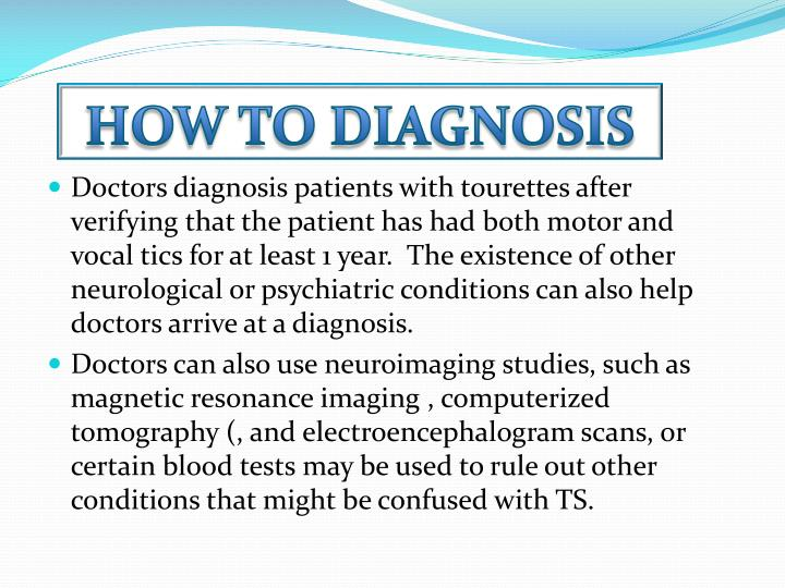 How to diagnosis