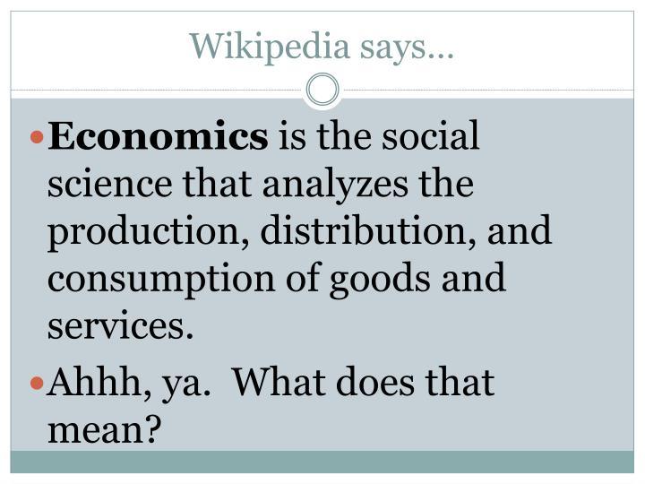 Wikipedia says…