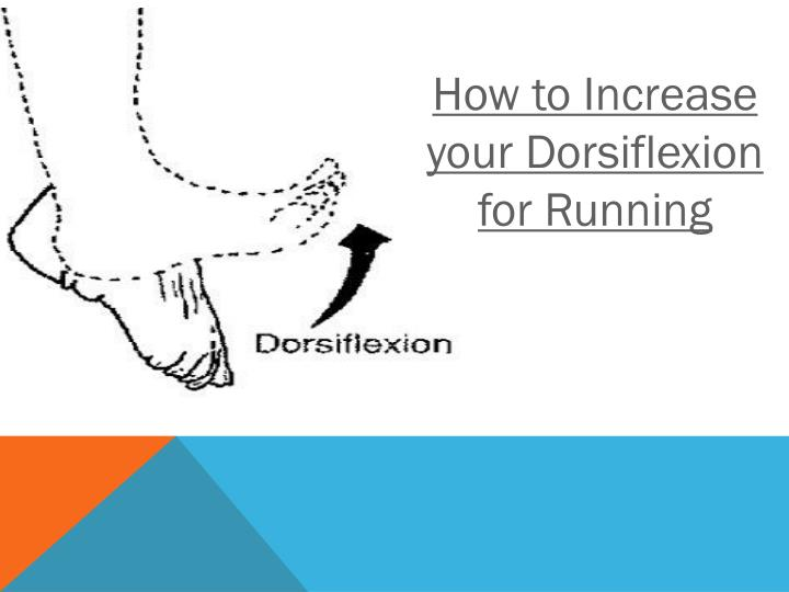 How to Increase your Dorsiflexion for Running