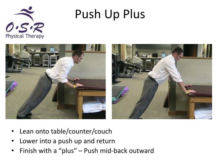 Push Up Plus