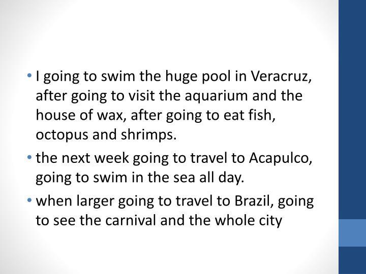 I going