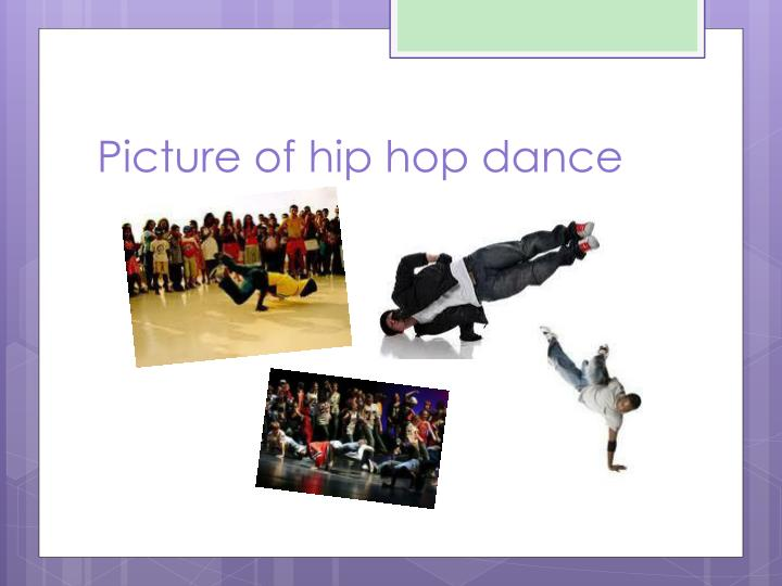 Picture of hip hop dance
