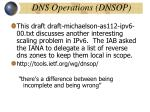 dns operations dnsop