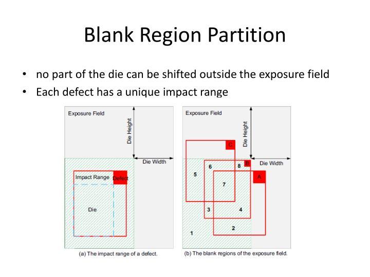 Blank Region