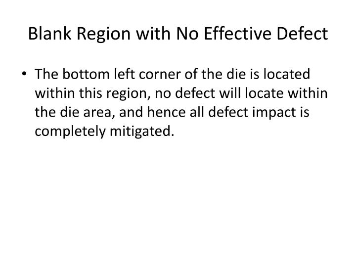 Blank Region with No Effective