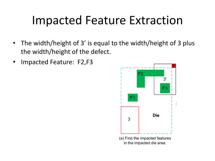 Impacted Feature Extraction
