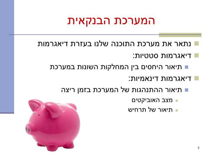 המערכת הבנקאית