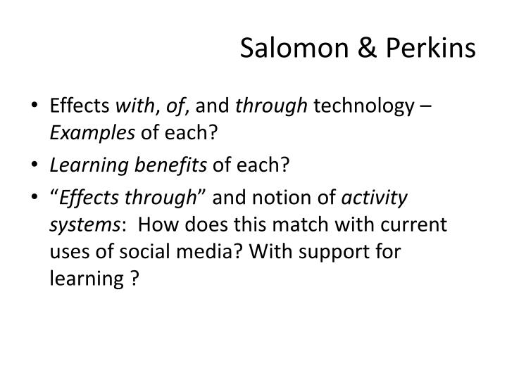 Salomon & Perkins