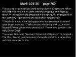 mark 1 21 26 page 760