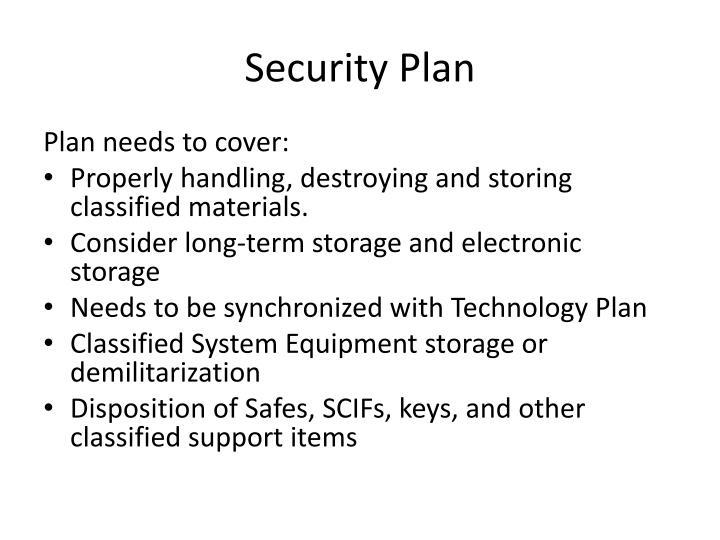 Security Plan