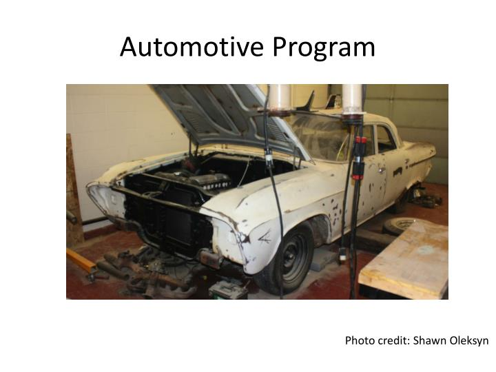 Automotive Program