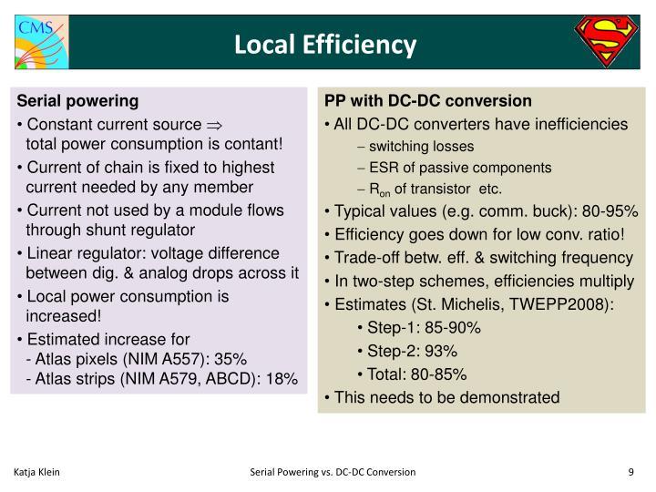 Local Efficiency
