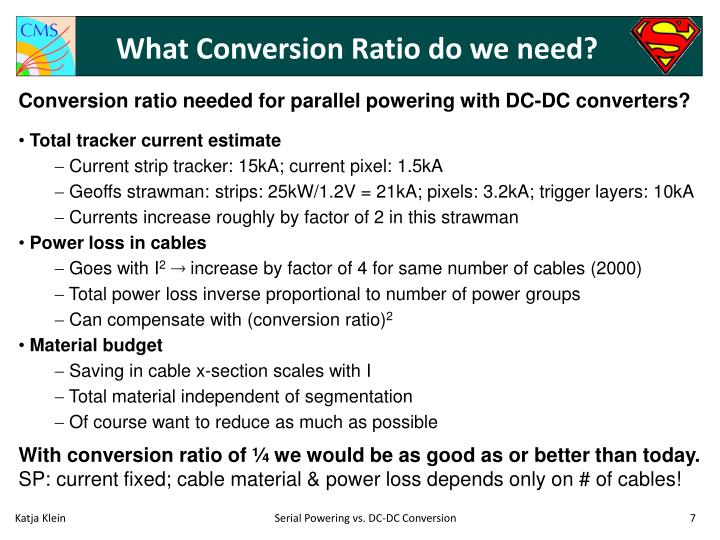 What Conversion Ratio do we need?