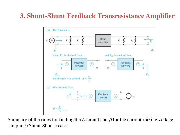 3. Shunt-Shunt Feedback