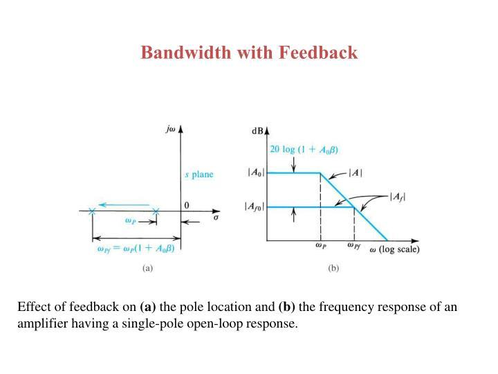 Bandwidth with Feedback