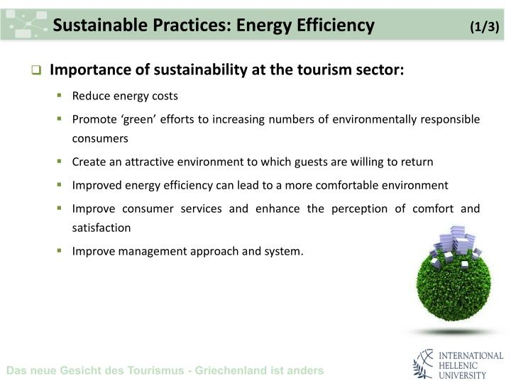 Sustainable Practices: Energy Efficiency