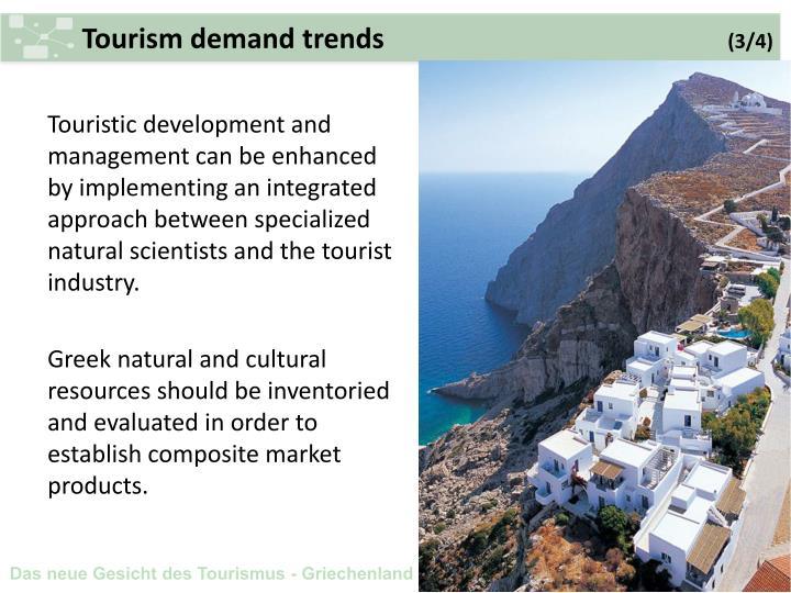 Tourism demand trends