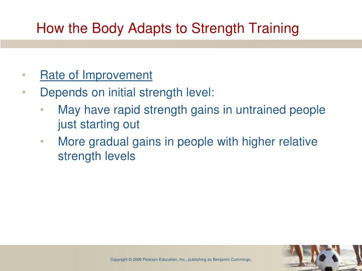 How the Body Adapts to Strength