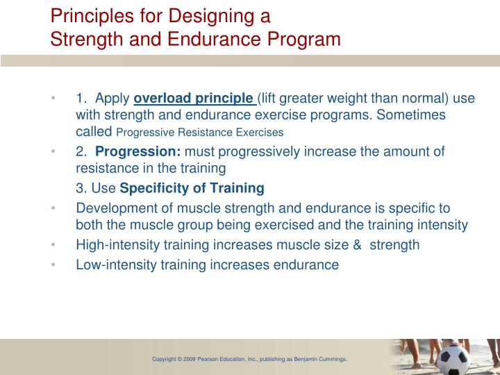 Principles for Designing a