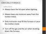 crucible furnace2