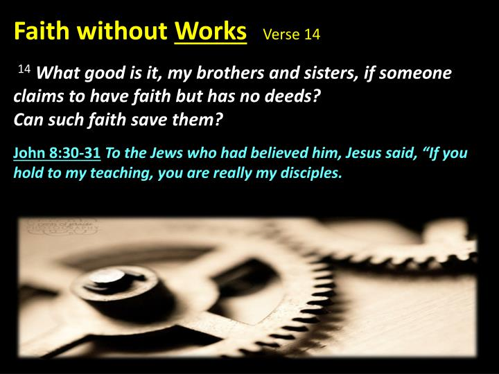 Faith without