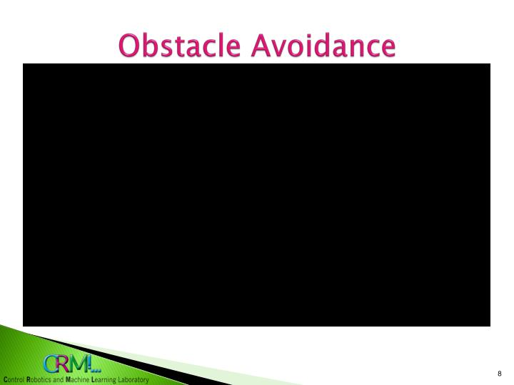 Obstacle Avoidance