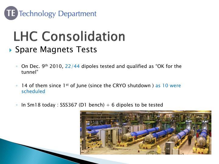 LHC Consolidation