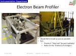 electron beam profiler1