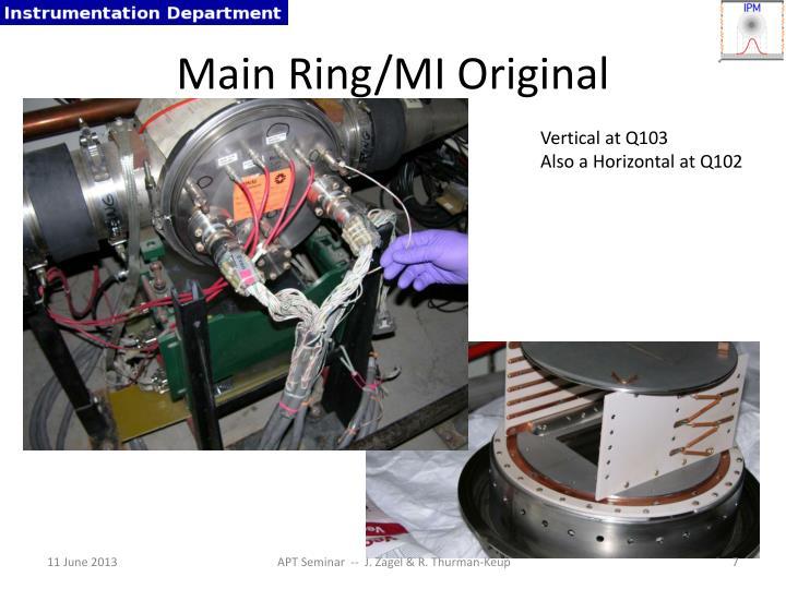 Main Ring/MI Original
