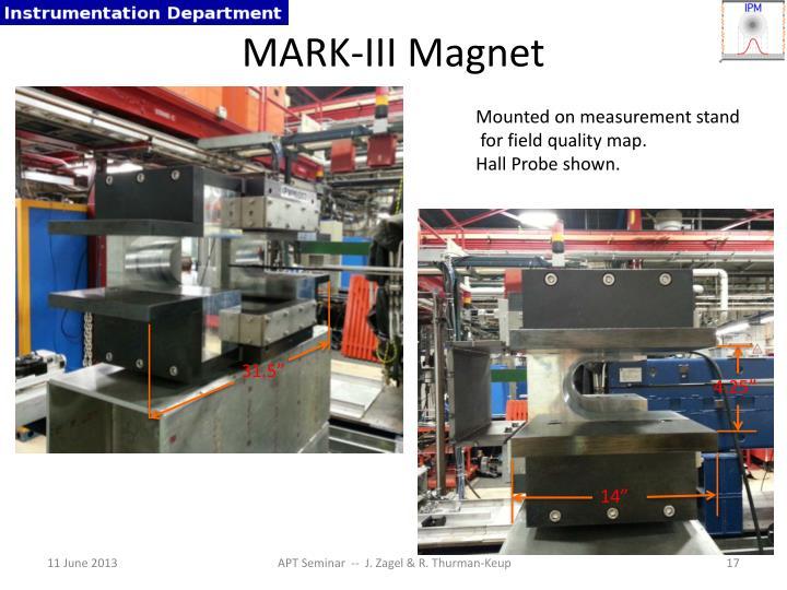 MARK-III Magnet