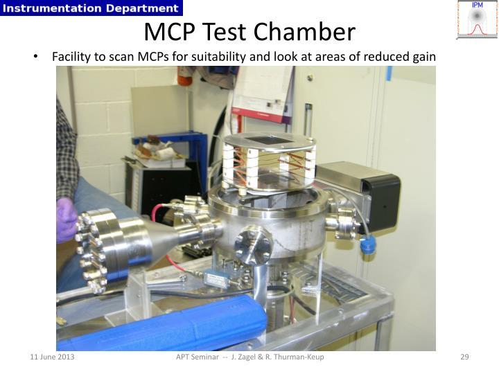 MCP Test Chamber