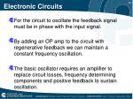 electronic circuits11