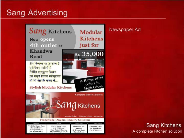 Sang Advertising