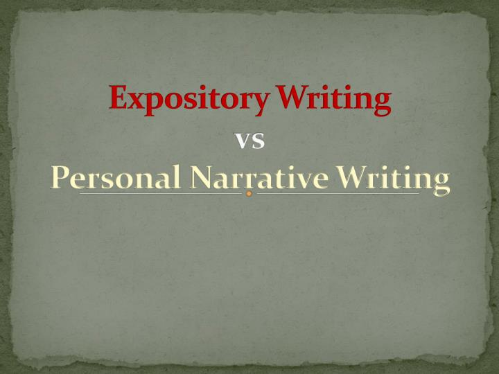narrative and expository writing How is narrative different from expository the purpose behind a narrative text differs from that of an expository text narrative essays expository writing.