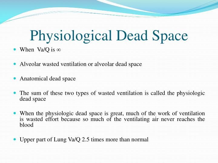 Physiological Dead Space